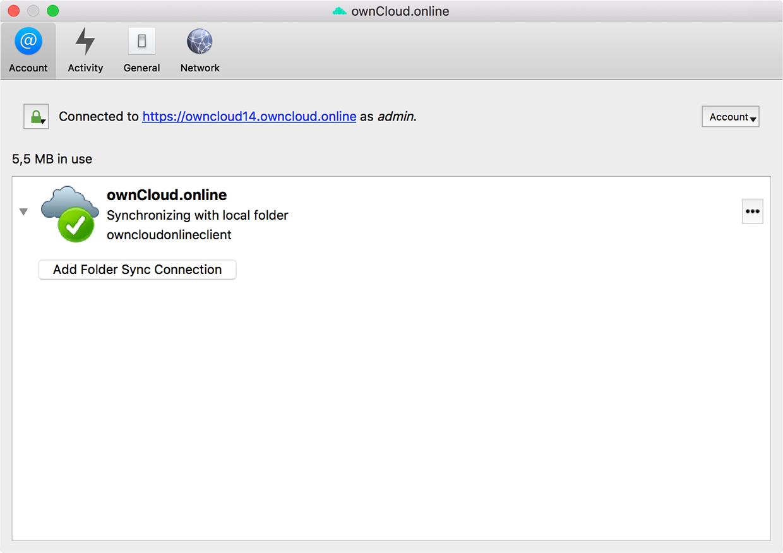 Install ownCloud.online desktop client step 5