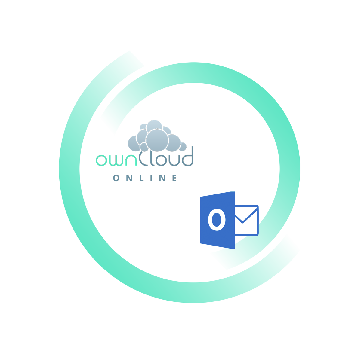 compare ownCloud and Dropbox: Outlook-plugin