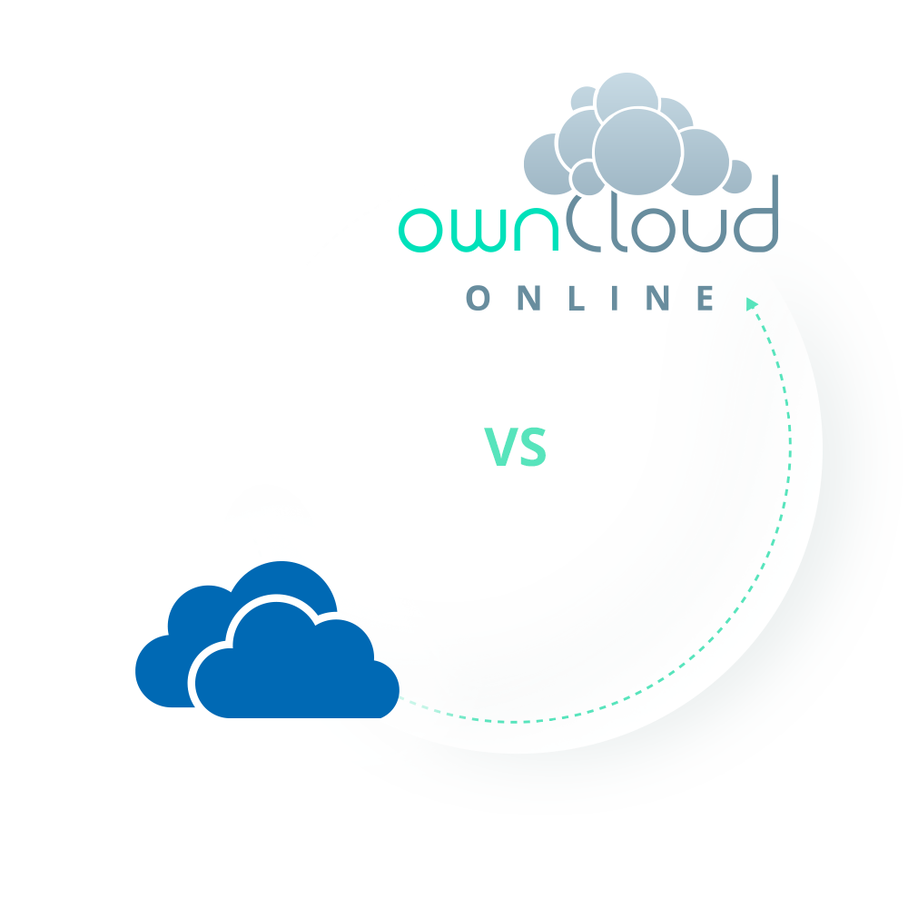Compare ownCloud.online and Microsoft OneDrive