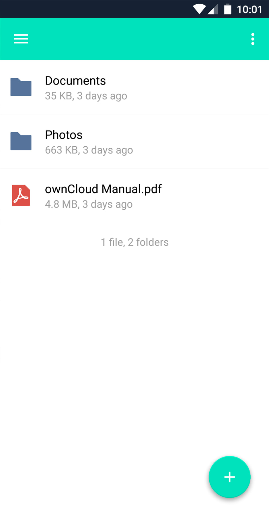 ownCloud.online Android Setup Step 3