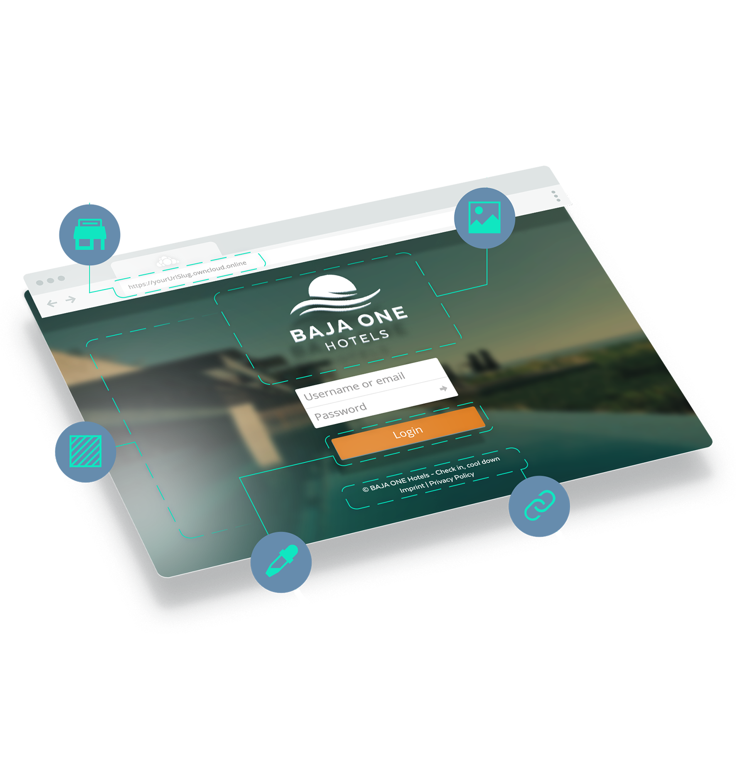 ownCloud online: Individuelles Branding mobile